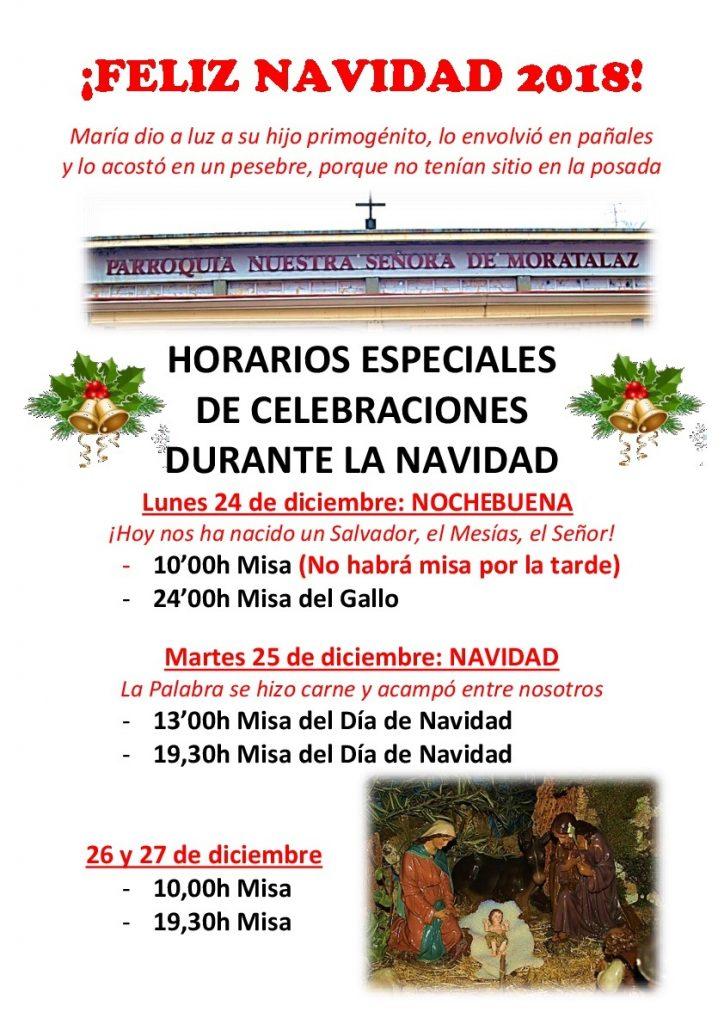 Misa del Gallo @ Parroquia Nuestra Señora de Moratalaz