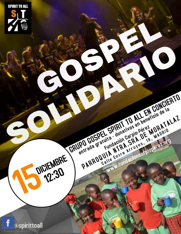 Concierto gospel Navidad @ Parroquia Nuestra Señora de Moratalaz | Madrid | Comunidad de Madrid | España