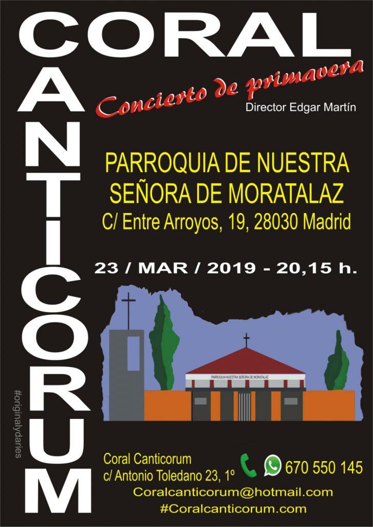 Coral Canticorum @ Parroquia Nuestra Señora de Moratalaz